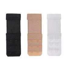2 Hooks Bra Extender For Womens Elastic Extension Strap Hook Clip  Adjustable Belt Buckle Underwear Women Intimate