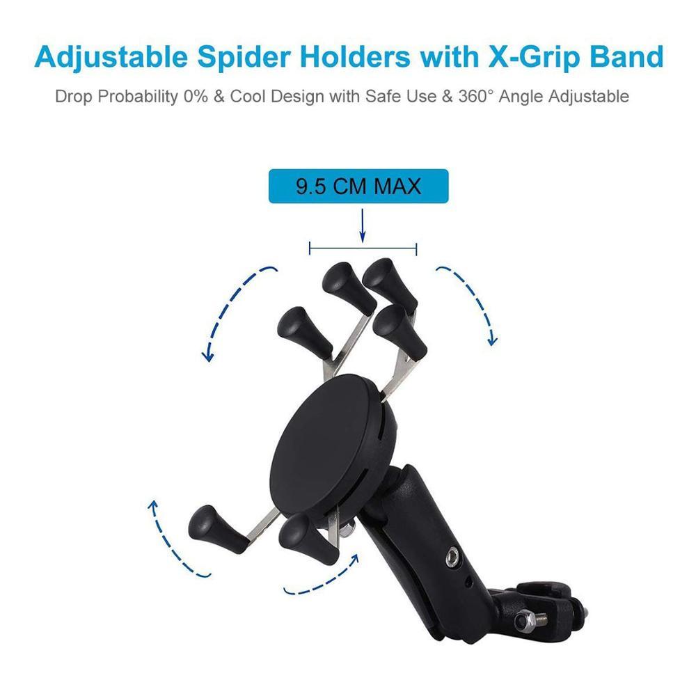 Universal Sepeda Sepeda Motor MTB Sepeda Telepon Pemegang Adjustable - Aksesori dan suku cadang ponsel - Foto 4