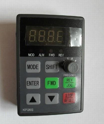 New FSCG05/P05(CVF-G5/P5) frequency converter operation panel KP26S(KP20) KP51S