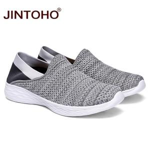 Image 2 - JINTOHO Unisex loaferlar yaz ayakkabı moda erkekler gündelik ayakkabı ayakkabı ucuz nefes erkek spor ayakkabı rahat erkek ayakkabı erkekler Shose
