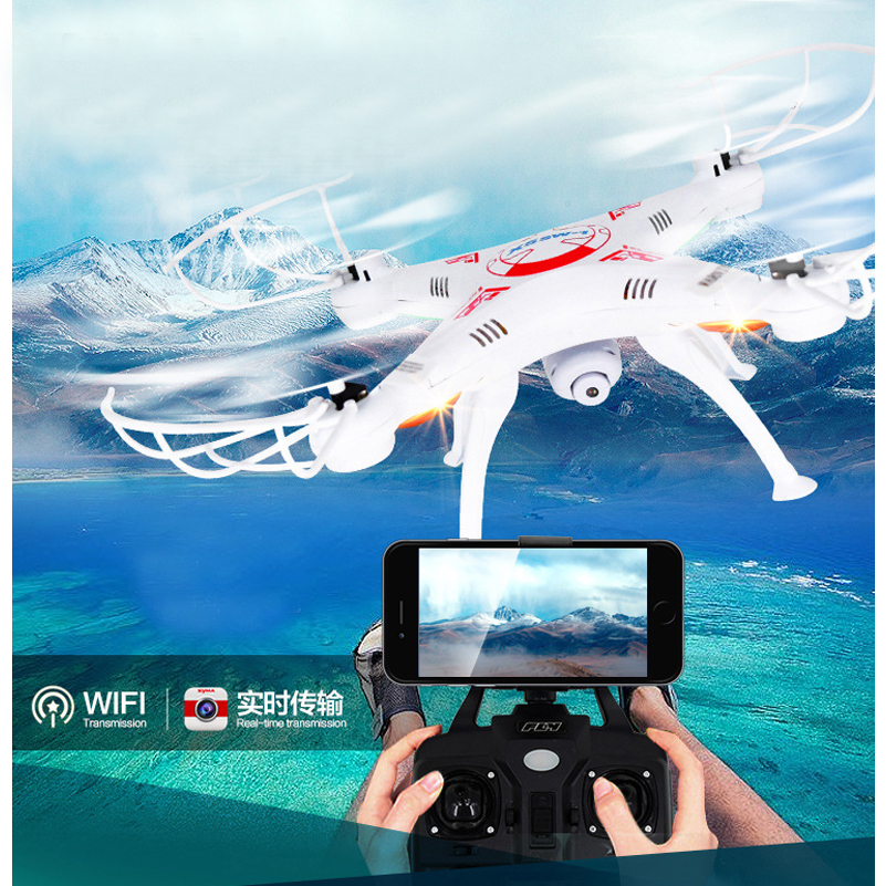 X5C RC Real time transmission Helicopter Drone With Camera 2MP HD 2 4G RC Toys 4