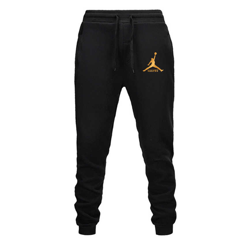 Men Pants New Fashions Jordan 23 Joggers Pants Male Casual Sweatpants Bodybuilding Fitness Track Pants Men's Sweat Trousers 3XL