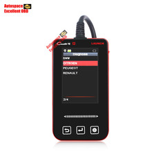 2016 Launch X431 Creader VII Creader 7 OBD2/EOBD Diagnostic Code Reader Update Online Choose 5 Software Free