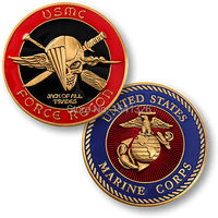 U.S. Marine Corps Challenge Coin - Force Recon - USMC Challenge Coin, 300pcs/lot DHL free shipping