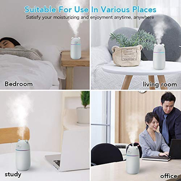 Ultrasonic Cool Mist Humidifier Car Humidifiers Air Purifier Premium Humidifying Unit With Whisper Quiet Operation Auto Shut in Humidifiers from Home Appliances