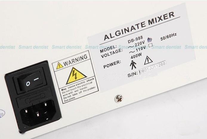 qualidade equipamento laboratorio dental centrifuga alginato mixer 05