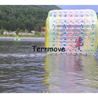 hot water roller,heavy duty ball bearing rollers,transparent water inflatable pvc roller ball,walking rollers on water