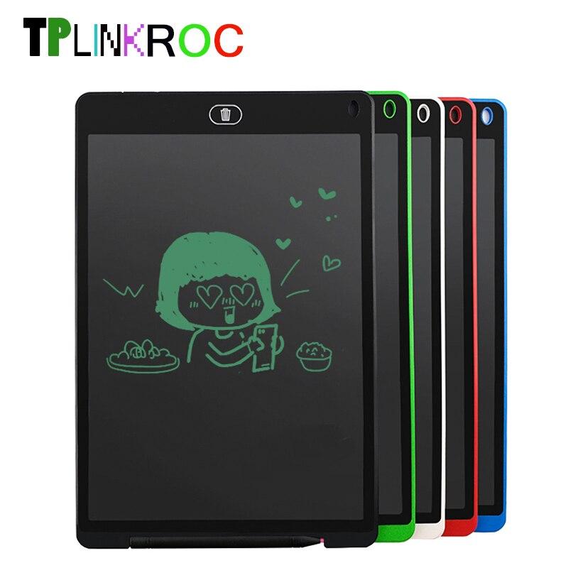 12 pollice LCD Tavoletta di Scrittura tavolo da Disegno Digitale Tablet Scrittura A Mano Pastiglie Elettronica Portatile Tablet Bordo ultra-sottile Bordo di Scherza il Regalo