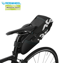Guanggun Jie ROSWHEEL 2017 New Men Bike Saddle Bag Bicycle Bag Pannier Cycling Seat Saddle Bag Bike Accessories Waterproof Bag