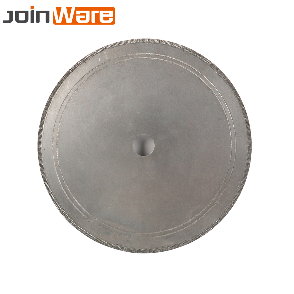 200mm Diamond Lapidary Saws Trim Blade Super Thin Edge Wet Cutting Disc For Jewellery Rotary Tools