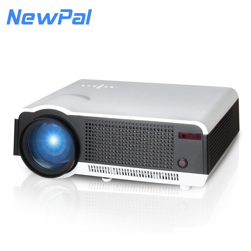 WIFI Projector 2800 Lumens Support 1290*1080 Pixels Analog TV LED Projector With RJ45 Port Android Wireless Beamer