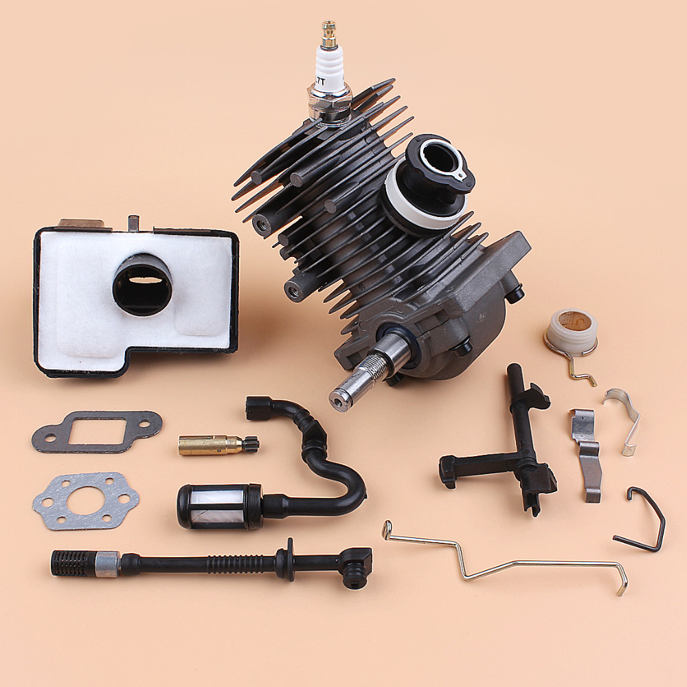 Crankshaft & Cylinder Piston Bearing Oil Seal Kit For Stihl MS170 MS180 018 1130 020 1208 Chainsaw Engine Motor Set