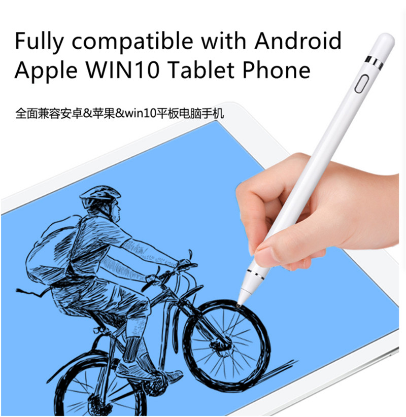 Pencil Capacitive Pen Handwriting Touch Active Touch Screen Pen  Pro Painting Tablet Mobile Phone Android Fingerpainting Touch