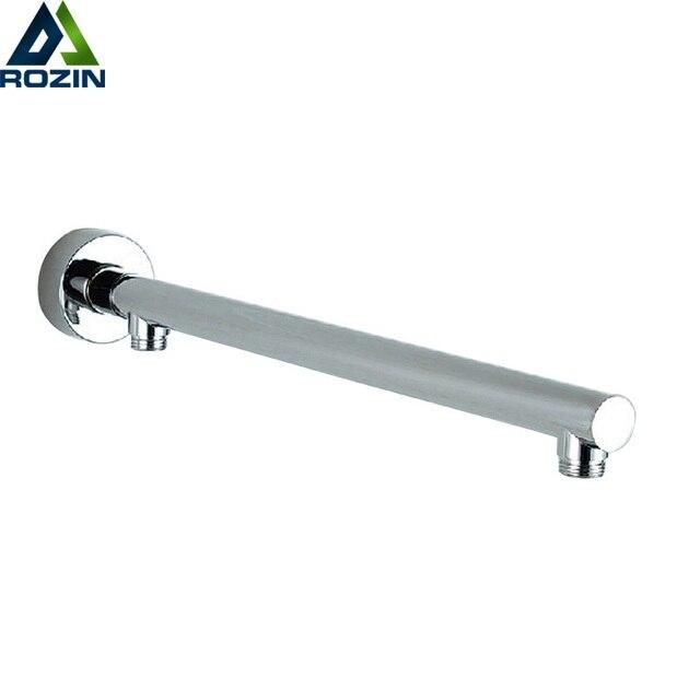 Хром Настенный душ Arm Ванная комната кронштейн для душа с переключателем бар G1/2 Насадки для душа фиксированной трубы Насадки для душа держатель