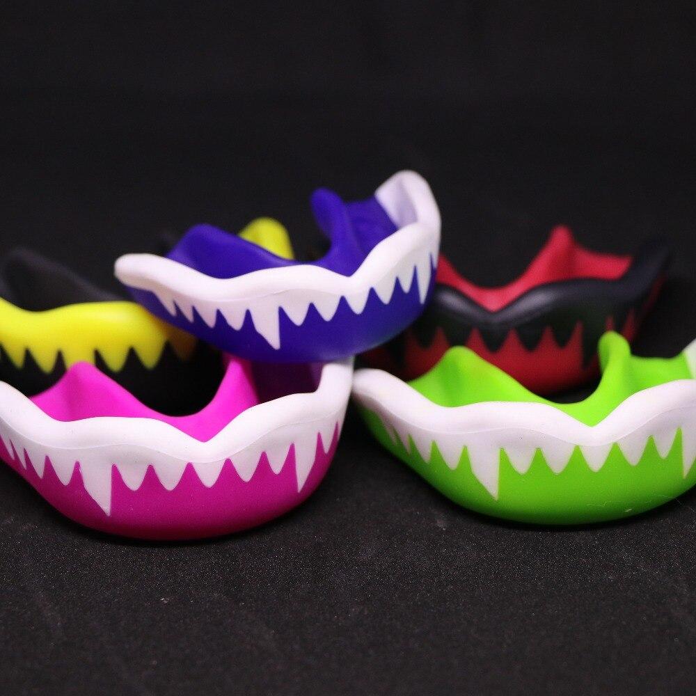 FGHGF brand Top level Environmental Mouth Guard Gum Shield Teeth Protector Muay Thai Boxing Rugby Gym Sport Teeth Guard