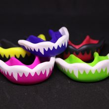 FGHGF brand Top level Environmental Mouth Guard Gum Shield Teeth Protector Muay Thai Boxing Rugby Gym Sport Teeth Guard(China)