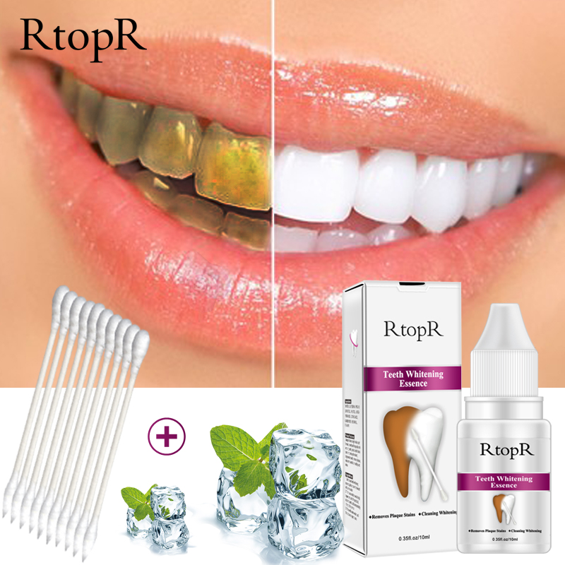 Teeth Oral Hygiene Essence Whitening Essence Daily Use Effective Remove Plaque Stains Cleaning Product teeth Cleaning Water 10ml 1