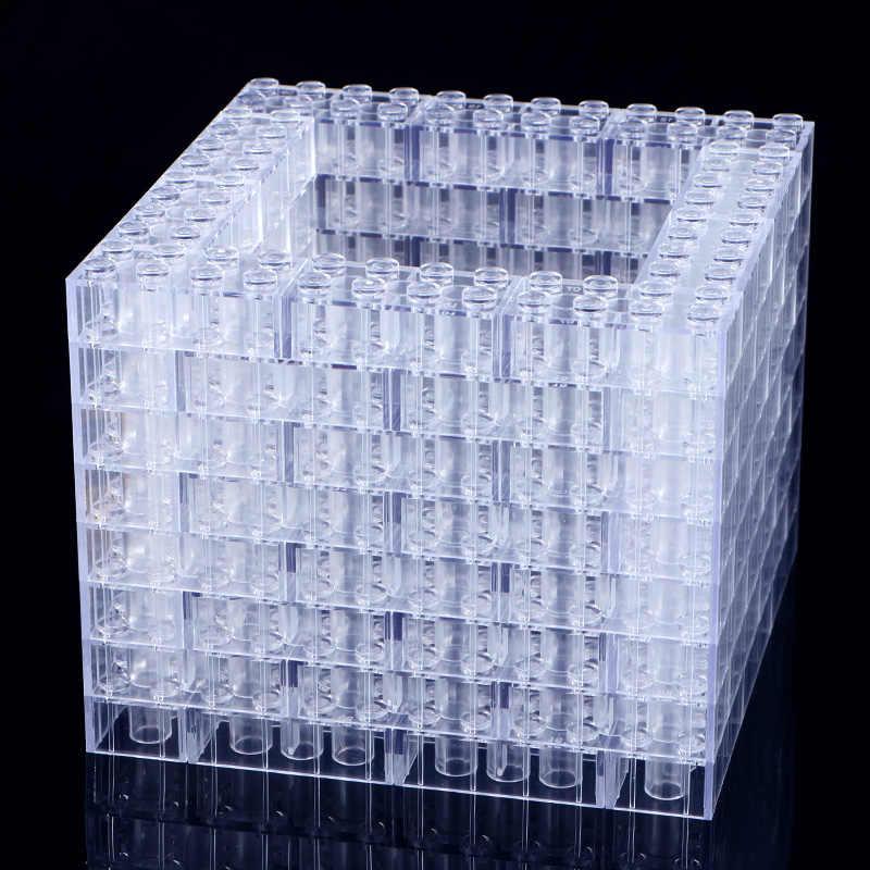 100 г/упак. «сделай сам» прозрачный кирпичная модель строительные блоки игрушки город строительные кирпичи детские игрушки Совместимые с подарками с lego