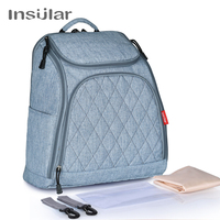 INSULAR Baby Nappy Changing Bags Large Capacity Maternity Mummy Diaper Backpack Baby Stroller Bag
