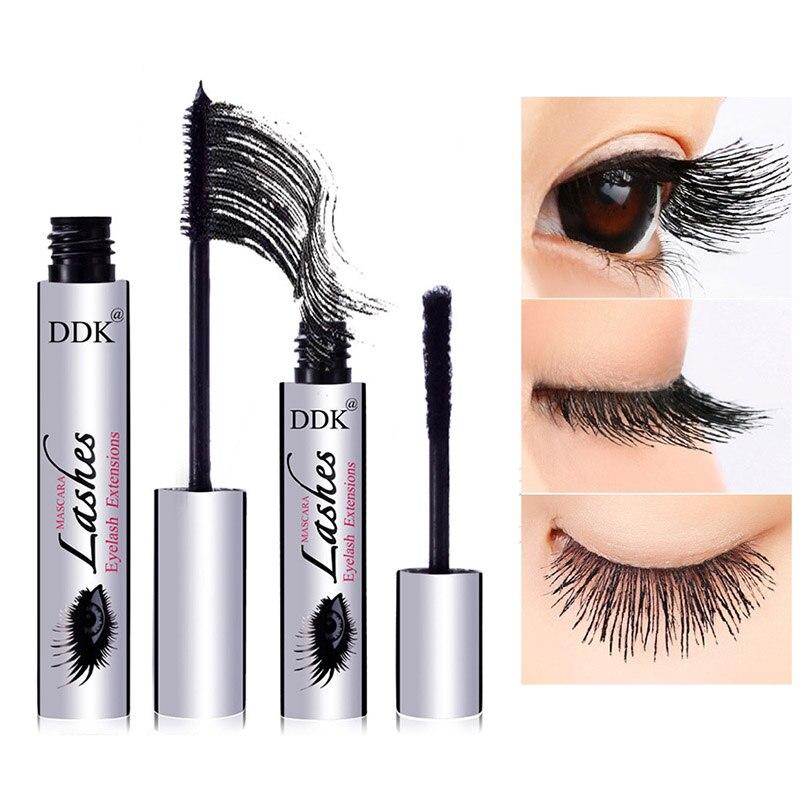 2018 NEW DDK 4D 4D Mascara Fiber Growth Fluid Set Waterproof Curling Eyelash Extension Long Eyelashes Fiber Growth Fluid цена