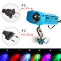 EU Plug 3W Remote RGB LED Water Wave Ripple Effect Stage Light lighting for DJ Party Lamp Disco