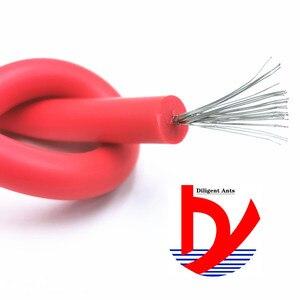 Image 1 - Fio de silicone macio de alta tensão, fio e cabo 25kv 30kv › 18awg 17awg 15awg anti quebra