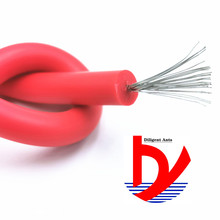Soft silicone wire High voltage wire and cable 25KV 30KV 40KV 20AWG 18AWG 17AWG 15AWG anti breakdown