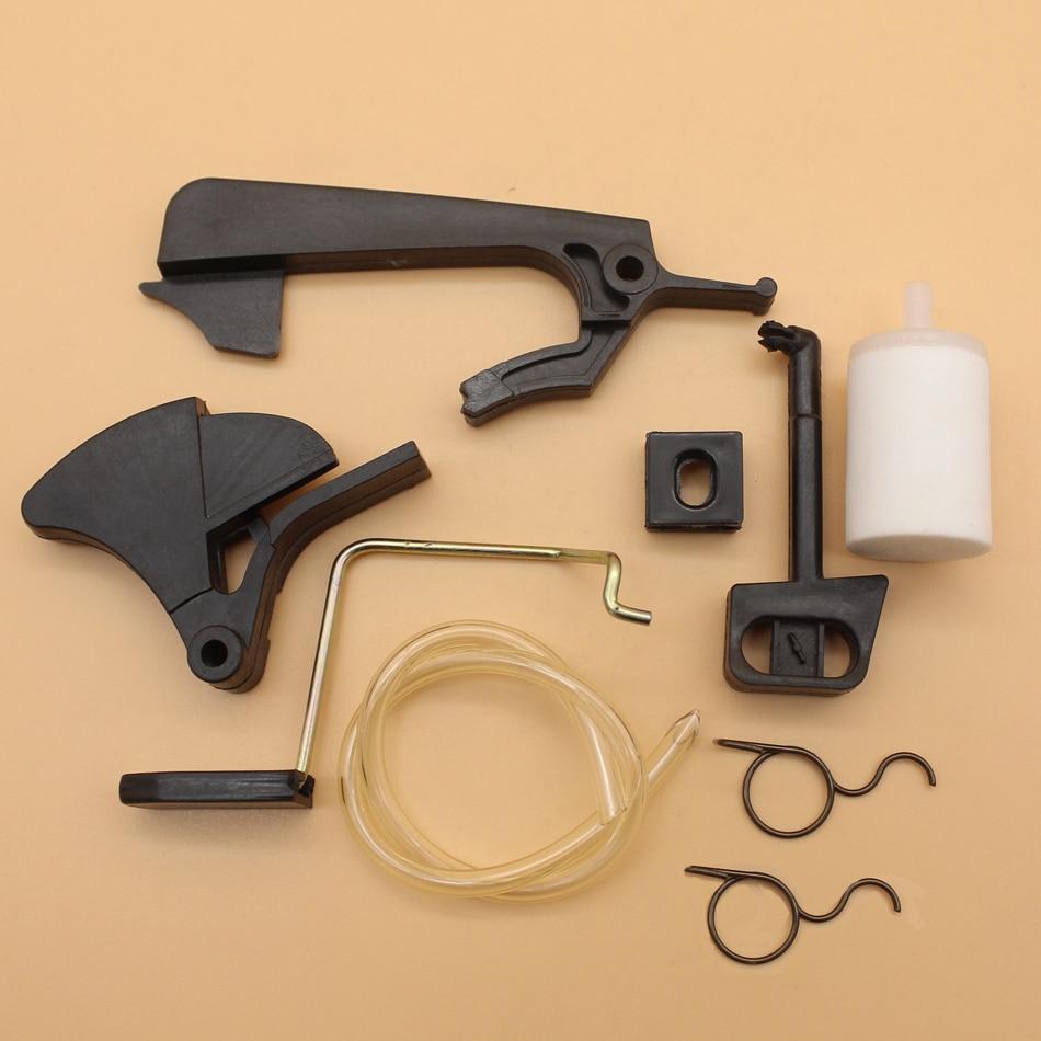 Throttle Trigger Spring Choke Rod Lever Repair Kit For HUSQVARNA 136 137 141 142 36 41 Chainsaw