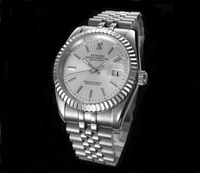 37.5mm Sangdo Business watch silver white dial Automatic Self Wind movement High quality Mechanical watches Men's watch sd60 8