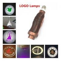 LED Logo 5W 7W E27 LED Projector Lamp Custom Projection Advertising Light 110V 220V