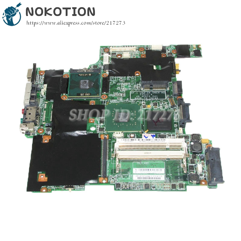 NOKOTION 42W2575 Main Board For Lenovo thinkpad R60 Laptop Motherboard 14.1 inch LCD 945GM DDR2 Free CPUNOKOTION 42W2575 Main Board For Lenovo thinkpad R60 Laptop Motherboard 14.1 inch LCD 945GM DDR2 Free CPU