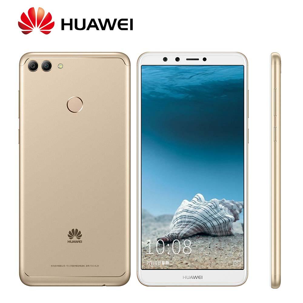 Mondial Rom Huawei Profiter 8 Plus Y9 2018 4000 mah D'empreintes Digitales 4 Caméras Kirin 659 Octa Core OTA Mise À Jour 5.93 Mobile Téléphone
