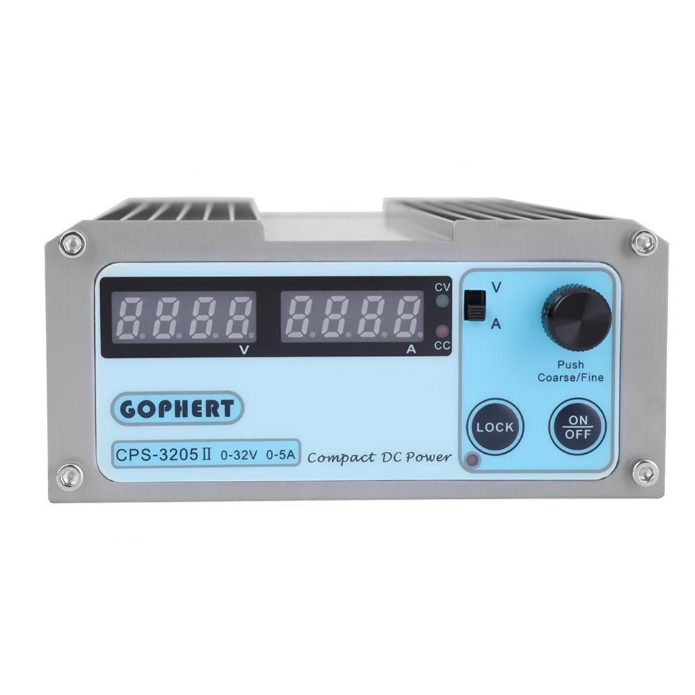 CPS 3205 110 220V DC Power Supply Digital Display Mini Variable Adjustable Power Tools with Plug