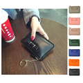 Genuine Leather Coin Purses Men Women's Cute Small Change Money Bags Pocket Wallets Key Holder Case Mini Pouch Zipper