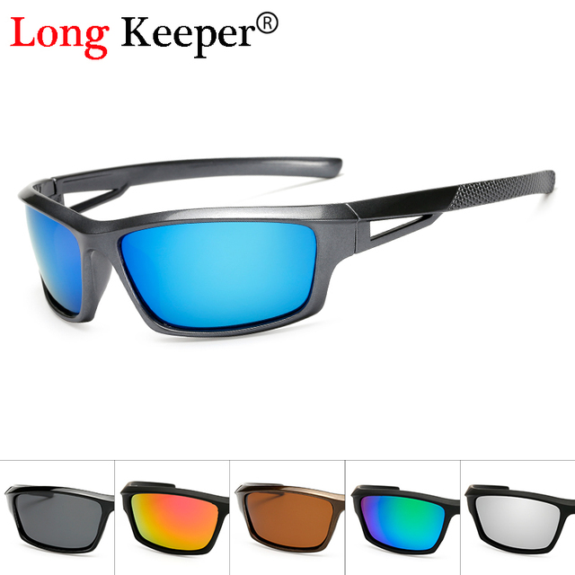 b2b51e8f44 Long Keeper Fashion Men Polarized Sunglasses Stylish Sun Glasses Male 100%  UV400 Polarised Driving Goggle Style Eyewears KP1008