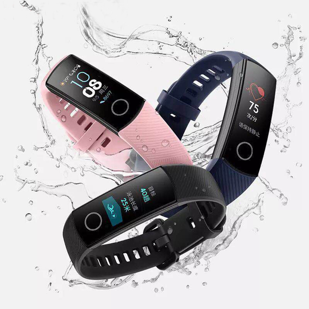 Bracelet de montre Original Huawei Honor Band 4 Bracelet intelligent de remise en formeBracelet de montre Original Huawei Honor Band 4 Bracelet intelligent de remise en forme