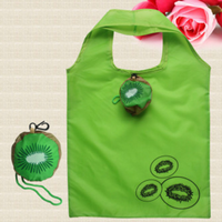 Hot Eco Storage Handbag Kiwifruit Foldable Shopping Bags Reusable Folding Grocery Nylon Large Bag Shopping Bags