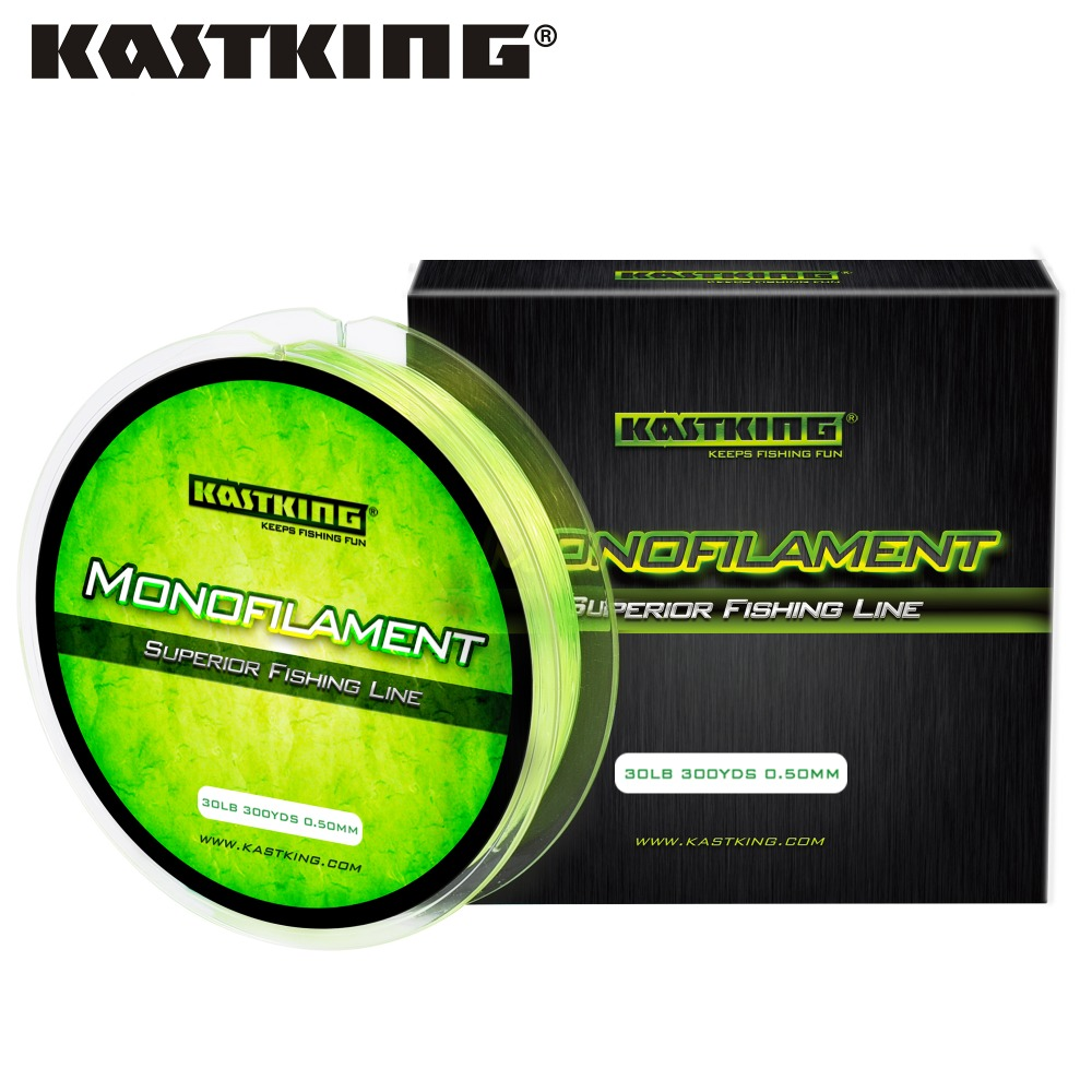 KastKing 275M Nylon Fishing Lline 0.2-0.5mm Saltwater and Freshwater Monofilament Line Premium Strong 4LB-30LB