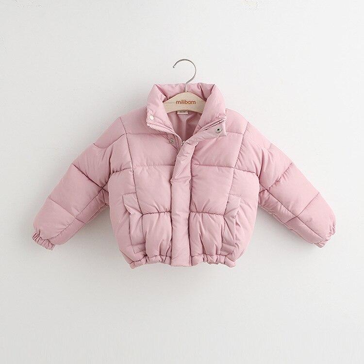 016 Children Outerwear Baby Girls Cotton Hooded Coats Winter Jacket Kids Coat Children s Winter Clothing