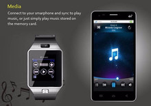 Newest Bluetooth Smartwatch antilost smart watch for HTC xiaomi Android Phone Smartphones