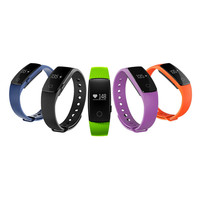 Bluetooth 4 0 Smart Bracelet Heart Rate Monitor Wristband Waterproof Smartband For IOS Android Smartphone For