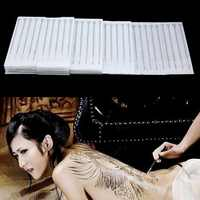 100 pièces aiguilles de tatouage jetables mélanger tailles aiguille de tatouage stérile ensemble pour outils de maquillage 1RL 3RL 5RL 5RS 5RS 5M1 5F