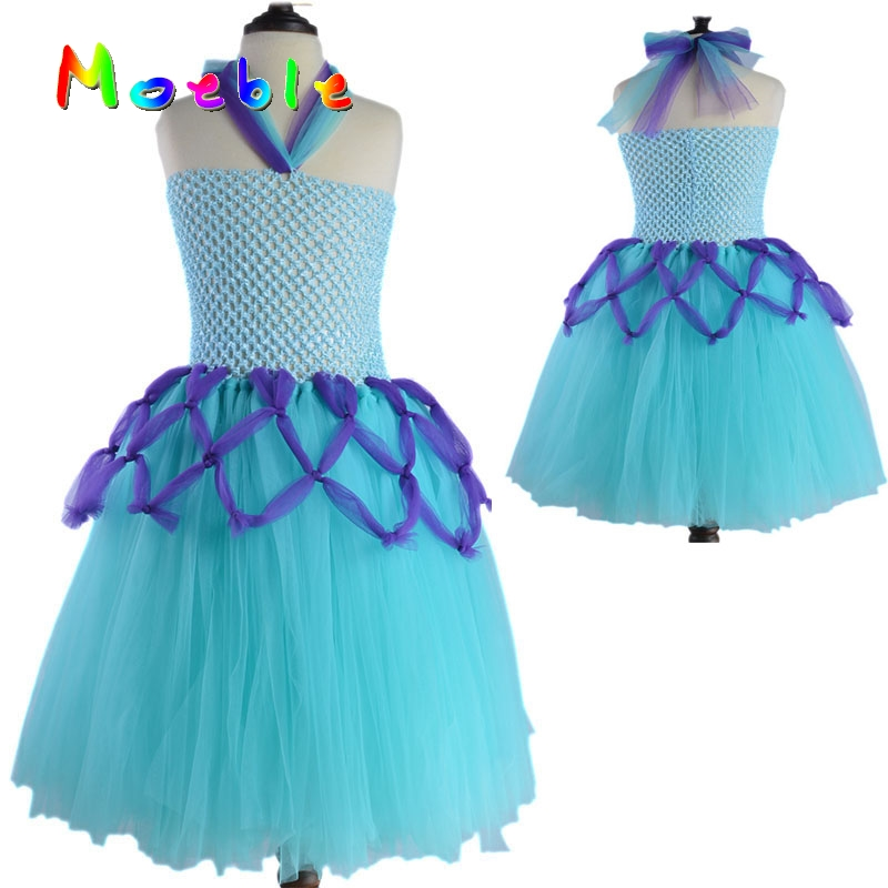 Handmade Baby Girls Tulle Tutu Dress Kids Party Coaplay Vestidos Ball Gown Girl Birthday Gift Set DT-1637 baby girl infant 3pcs clothing sets tutu romper dress jumpersuit one or two yrs old bebe party birthday suit costumes vestidos