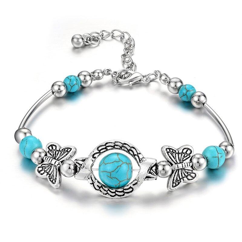 BEAUTIFUL PLAN European Style Vintage Silver plated Crystal Charm Bracelet Women and men fit Original Bracelet Jewelry Gift