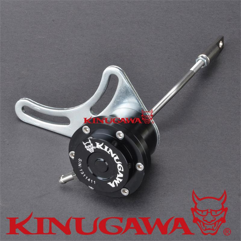 Kinugawa Adjustable Turbo Wastegate Actuator for Mitsubishi / for Greddy TD04H 1.0 bar / 14.7 Psi