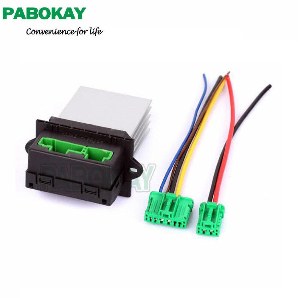 Online Shop Heater Blower Resistor Connector Wire 6441l2 7701207718 Motor Peugeot 406 7701048390 For Renault Citroen C2