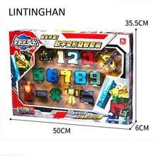 LIN LegoINGs City DIY Creative Building Blocks Sets Figures Transformation Number Robot Deformation Friends Creator Toys Gifts