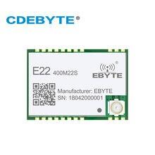 Передатчик и приемник sx1268 433 МГц антенна отверстия ipx с