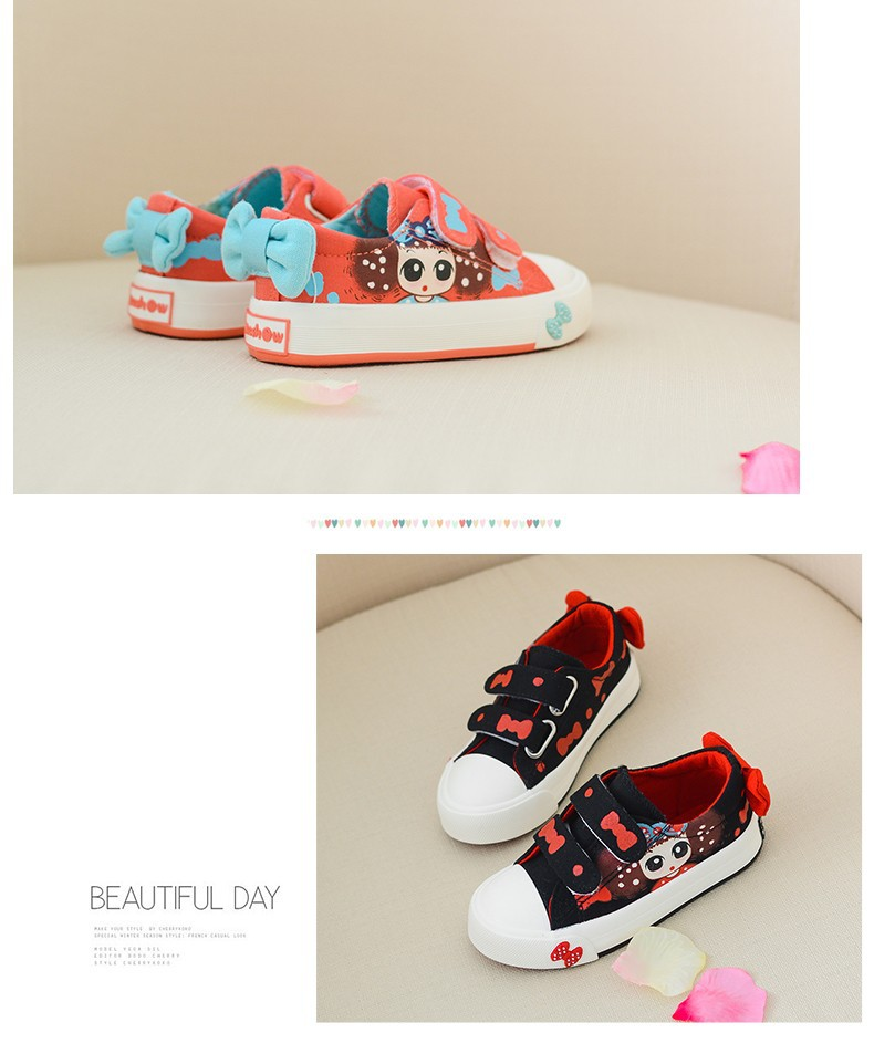 Canvas Children Shoes 17 New Baby Girls Princess Shoes Brand Kids Sneakers for Girls Denim Child Flat Toddler Shoes 14