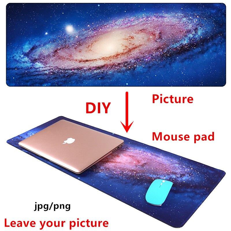 Large DIY Mouse pad mat gaming Custom mousepad L XL Anime picture customize Overwatch CS GO Dota night starry sky game mat pad cs 100 diy cs b001